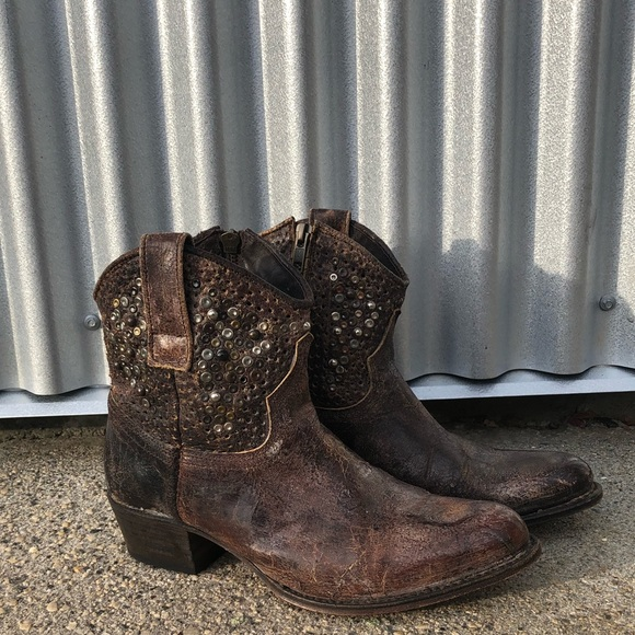 c65fb526c3e Frye Shoes | Deborah Studded Boot | Poshmark
